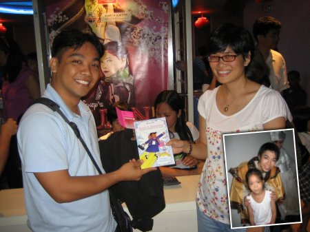 Book Raffle at Mulan Jr., Shang Pauses for a Pose